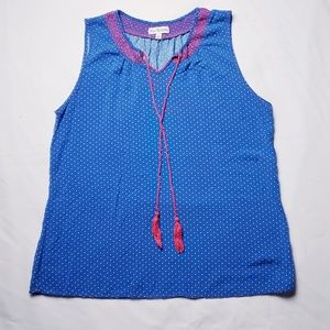 Adorable Kim Rogers Sleeveless Top